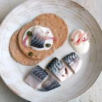 Soused mackerel with crispbreads